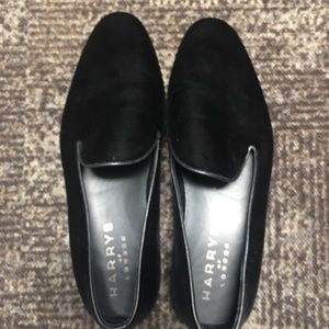 Harry's of London black slip on shoes